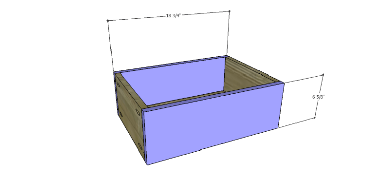 DIY Plans to Build a Jamie Media Console_Drawer FB