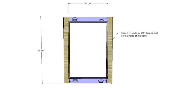 DIY Plans to Build a Valerie Nightstand_Door 1