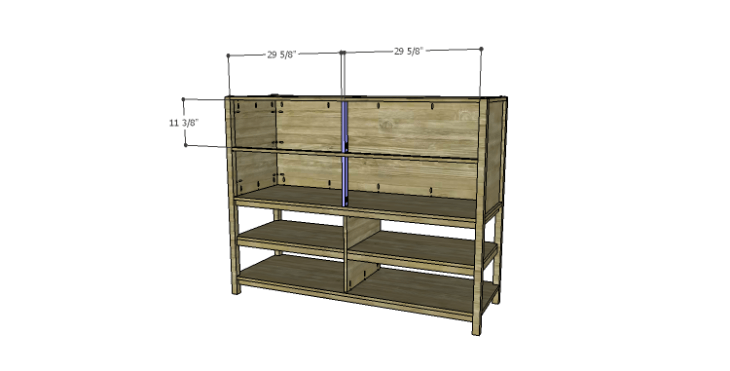 DIY Plans to Build a Forester Sideboard_Dividers