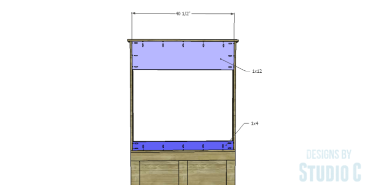 DIY Plans to Build a Slatted Hall Bench_Back