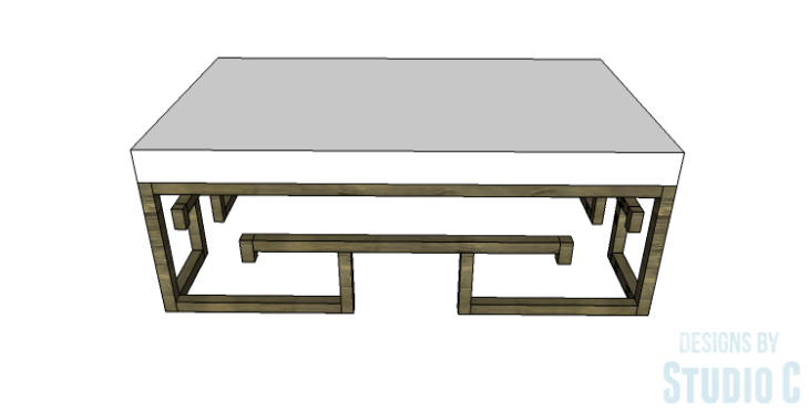 DIY Plans to Build a Lilley Bench_Front View