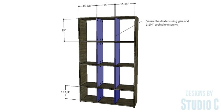 DIY Plans to Build a Reclaimed Bookcase Divider_Dividers