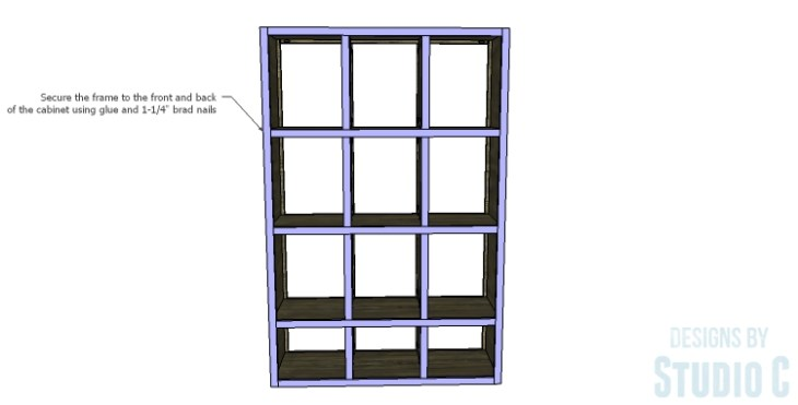 DIY Plans to Build a Reclaimed Bookcase Divider_Frame 2