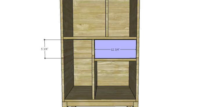 DIY Plans to Build a Daisy Bookcase_Drawer Front