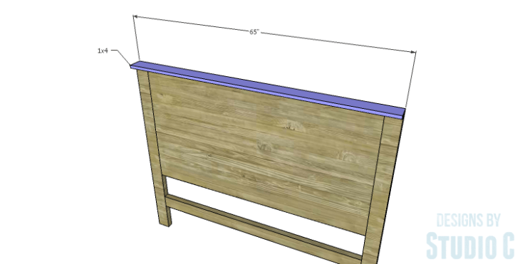 DIY Plans to Build a Monica Headboard_Top
