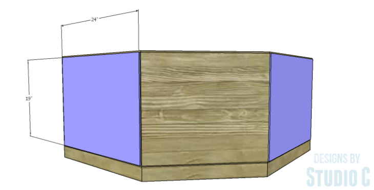 DIY Plans to Build a Rushton Media Stand_Back Side Panels