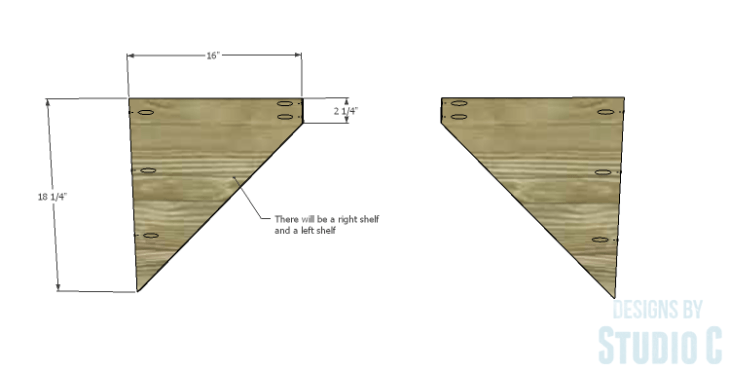 DIY Plans to Build a Rushton Media Stand_Outer Shelves 1
