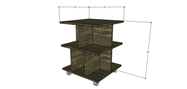 DIY Plans to Build a Warner Storage Shelf
