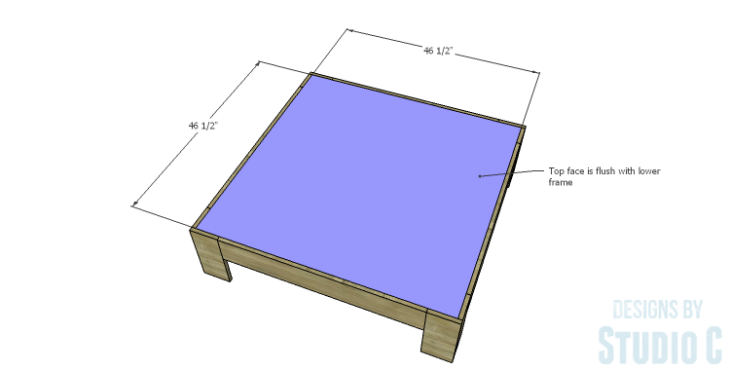 DIY Plans to Build a Mercer Coffee Table_Lower Top