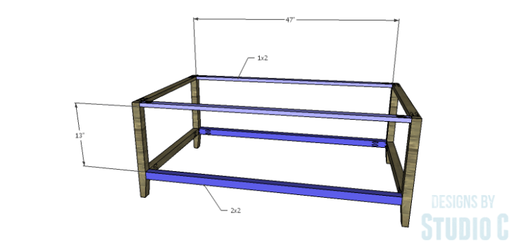 DIY Plans to Build a Drew Cocktail Table_Stretchers