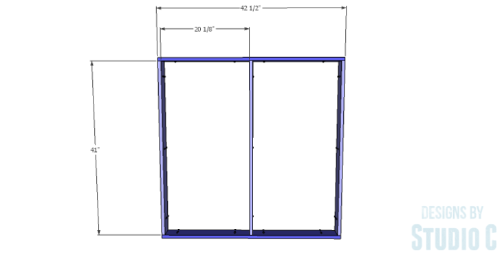 DIY Plans to Build a Mercer Coffee Table_Top Frame 1