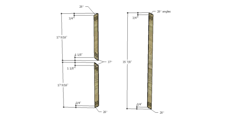 DIY Plans to Build a Davidson Console Table_X 1