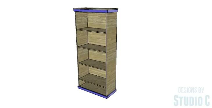 DIY Plans to Build a Single Door Armoire_Trim