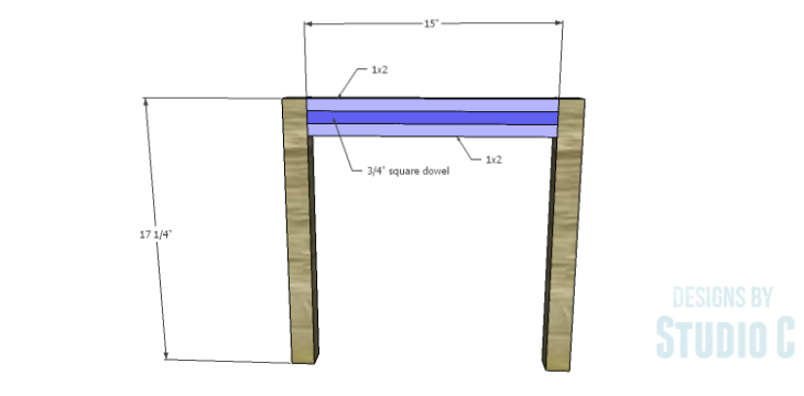 DIY Plans to Build a Holly Dining Bench_Ends
