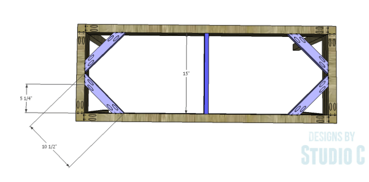 DIY Plans to Build a Holly Dining Bench_Seat Supports