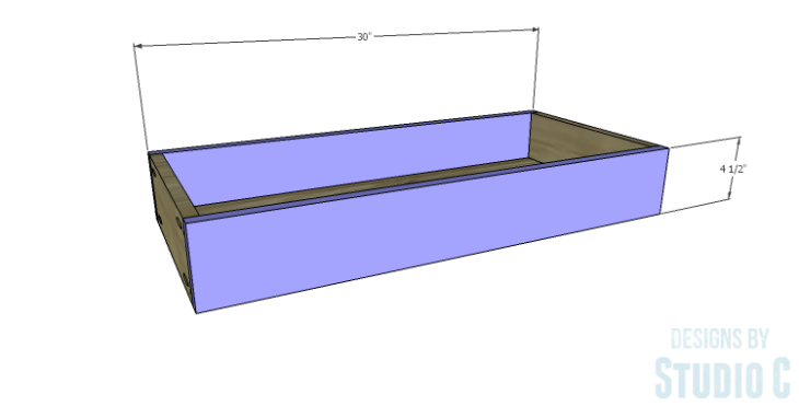 DIY Plans to Build a Bombay Bookcase_Drawer FB