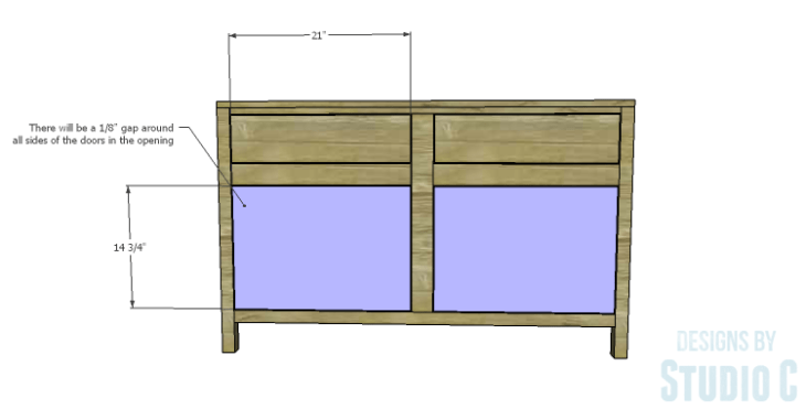 DIY Plans to Build a Trinity Cabinet_Doors