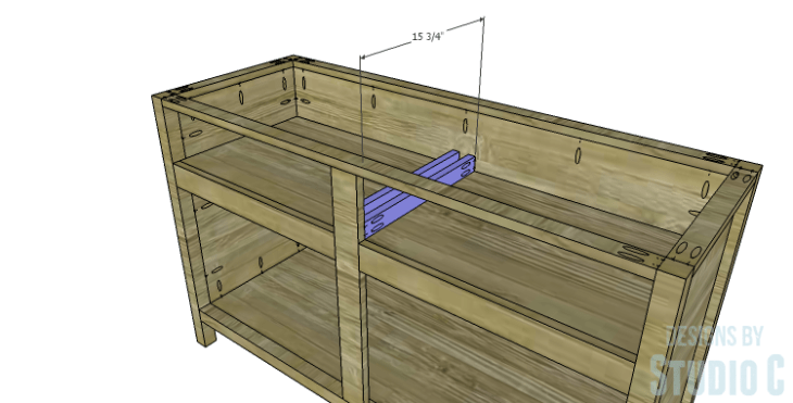DIY Plans to Build a Trinity Cabinet_Drawer Slide Spacer