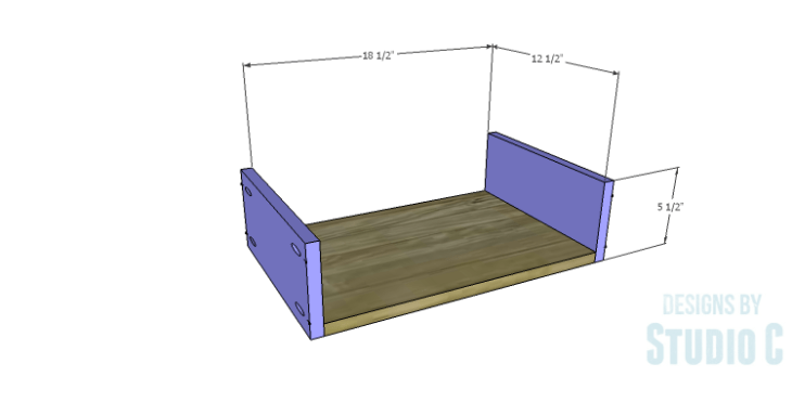 DIY Plans to Build a Matteo Drawer Cabinet_Large Drawer BS