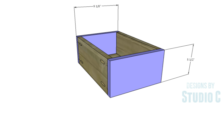DIY Plans to Build a Matteo Drawer Cabinet_Small Drawer FB