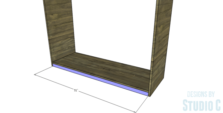 DIY Plans to Build a Providence Dresser_Lower Supports