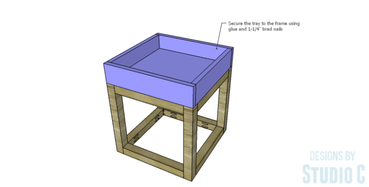DIY Plans to Build a Tray Side Table_Tray 3