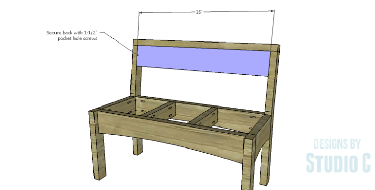 DIY Plans to Build a Taboreh Bench_Back
