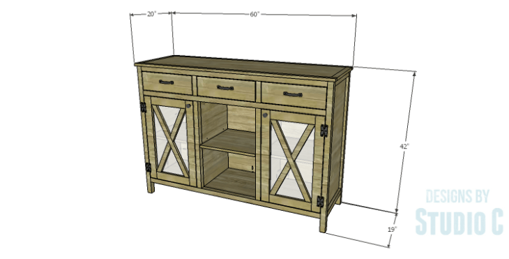 DIY Plans to Build a Doyle Cabinet