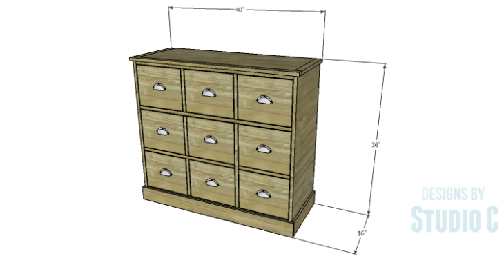 DIY Plans to Build a Savoy Cabinet