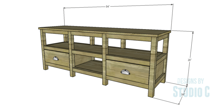 DIY Plans to Build a Delvigne Media Cabinet