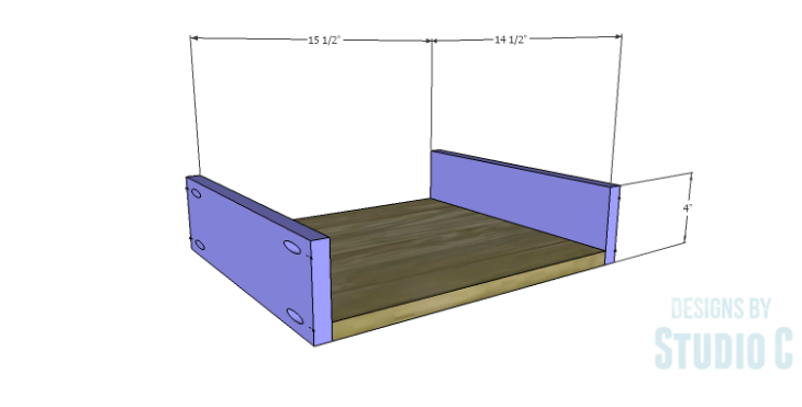 DIY Plans to Build a Doyle Cabinet_Center Drawer BS