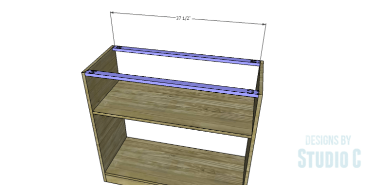 DIY Plans to Build a Savoy Cabinet_Upper Stretchers