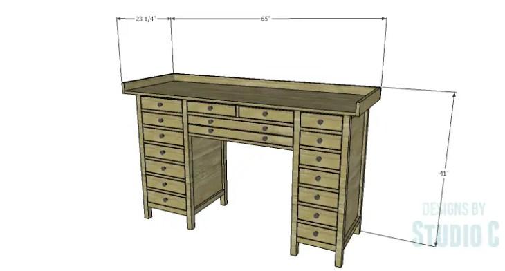 DIY Plans to Build a Jeweler's Desk