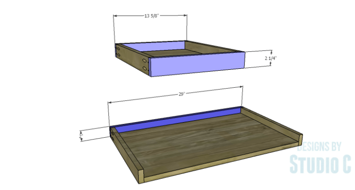 DIY Plans to Build a Jeweler's Desk_Center Drawer FB
