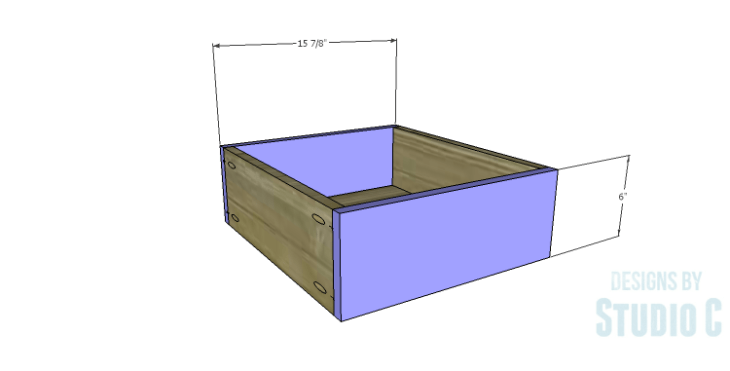 DIY Plans to Build a Monroe Dresser_Drawer FB