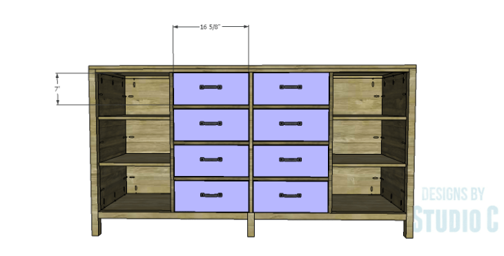 DIY Plans to Build a Monroe Dresser_Drawer Fronts