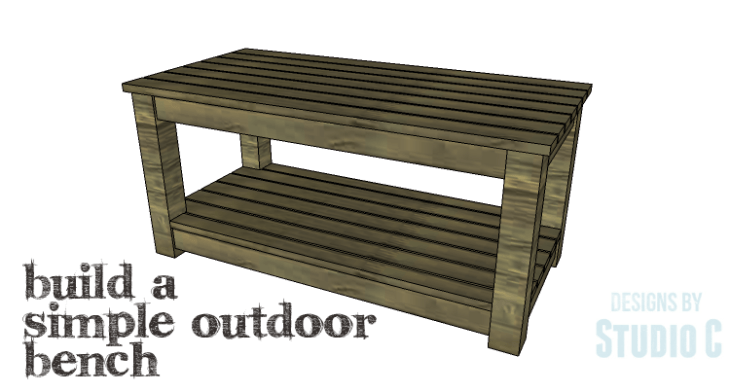 DIY Plans to Build a Simple Outdoor Bench_Copy
