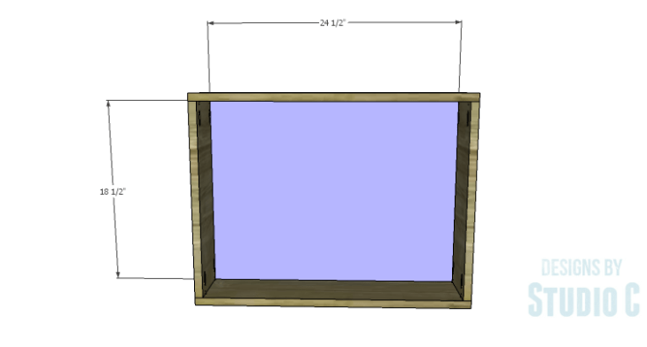 DIY Plans to Build a Laptop Wall Desk_Back