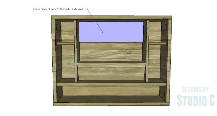 DIY Plans to Build a Laptop Wall Desk_Cork
