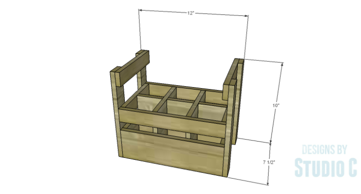 DIY Plans to Build a Bottle Crate
