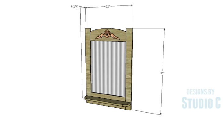 DIY Plans to Build an Espana Mirror Frame
