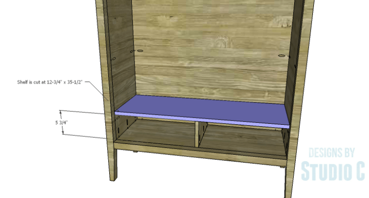 DIY Plans to Build a Scoville Pantry_Drawer Shelf