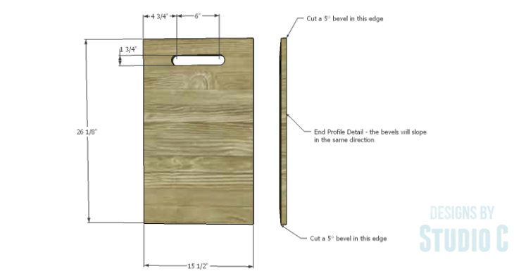 DIY Plans to Build a Rustic Laundry Cart_Ends 1