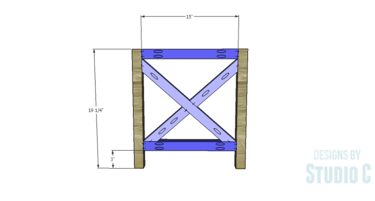 DIY Plans to Build a Riley Coffee Table_Sides 3