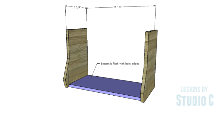 DIY Plans to Build an Atlantic Wall Shelf_Bottom