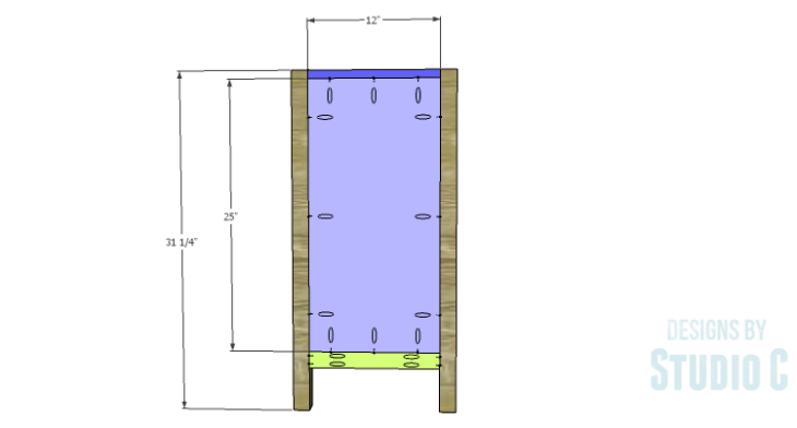 DIY Plans to Build an Atherton Cabinet_Sides