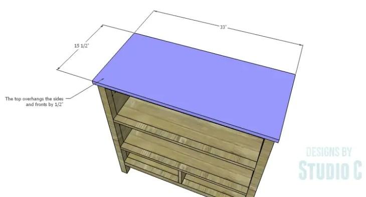 DIY Plans to Build an Atherton Cabinet_Top