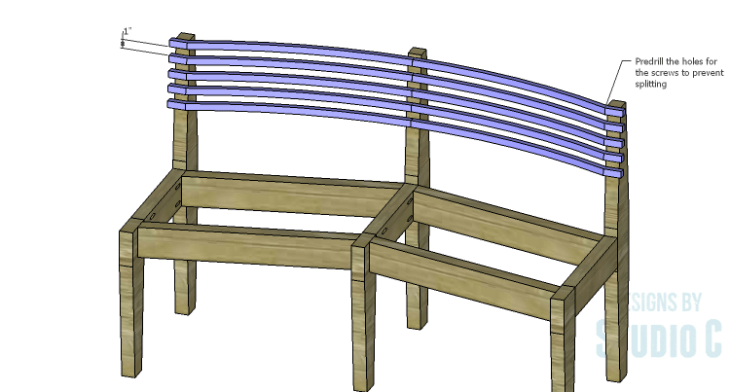 DIY Plans to Build a Curved Seat Bench_Back 2