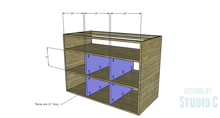 DIY Plans to Build an Eckhart Kitchen Island_Shelf Dividers