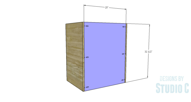 DIY Plans to Build a Trunk Style Bath Vanity_Back